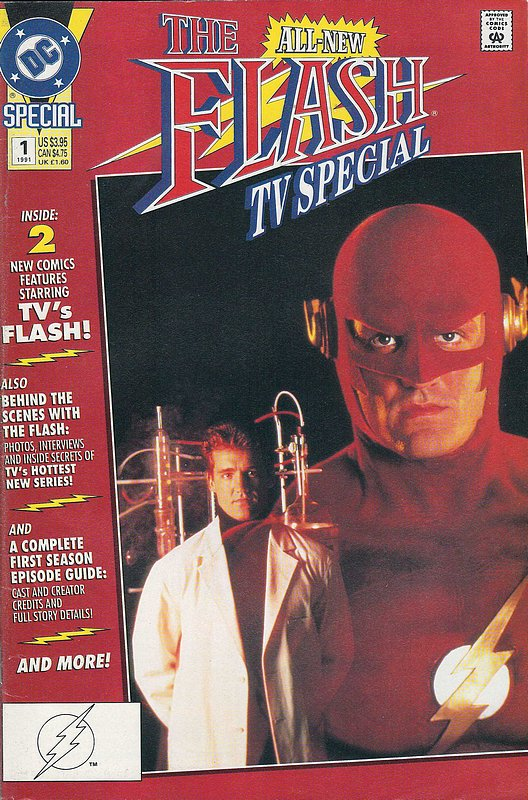 Cover of Flash TV Special (1991 One Shot) #1. One of 250,000 Vintage American Comics on sale from Krypton!