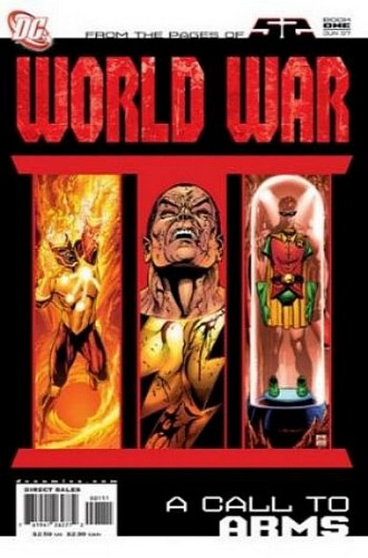 Cover of World War III (2007 Ltd) #1. One of 250,000 Vintage American Comics on sale from Krypton!