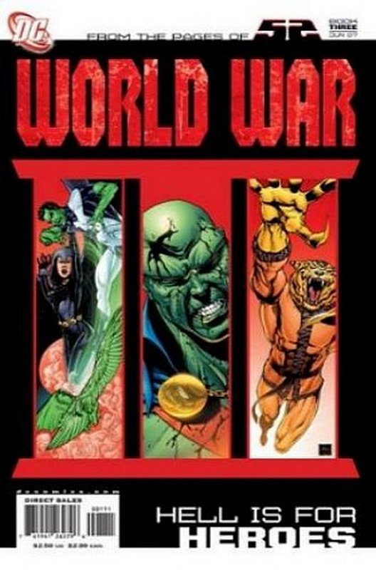 Cover of World War III (2007 Ltd) #3. One of 250,000 Vintage American Comics on sale from Krypton!