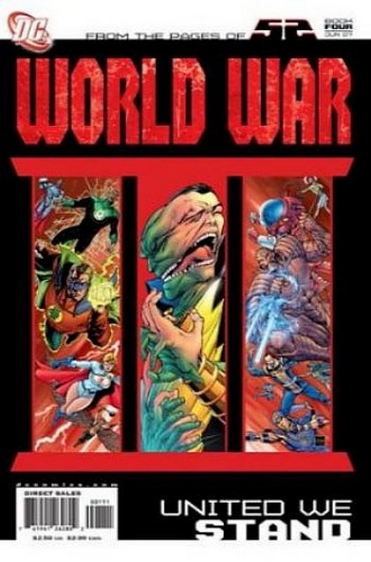 Cover of World War III (2007 Ltd) #4. One of 250,000 Vintage American Comics on sale from Krypton!