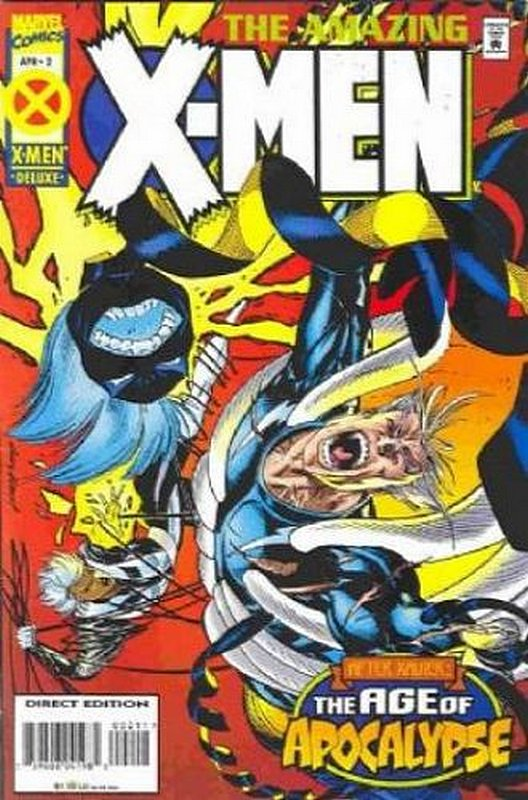 Cover of Amazing X-Men (1995 Ltd) #2. One of 250,000 Vintage American Comics on sale from Krypton!