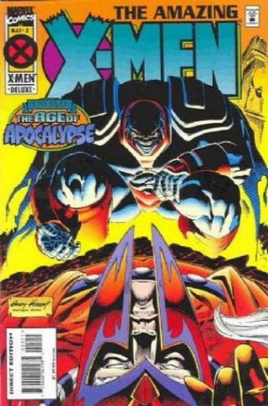 Cover of Amazing X-Men (1995 Ltd) #3. One of 250,000 Vintage American Comics on sale from Krypton!