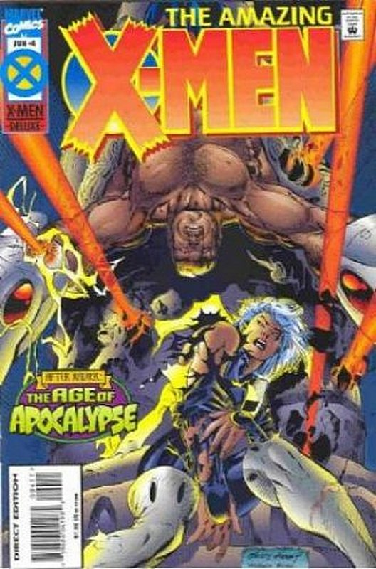 Cover of Amazing X-Men (1995 Ltd) #4. One of 250,000 Vintage American Comics on sale from Krypton!