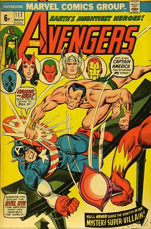 Cover of Avengers (Vol 1) #117. One of 250,000 Vintage American Comics on sale from Krypton!