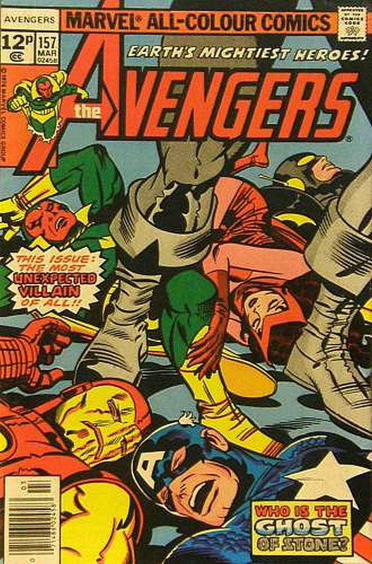 Cover of Avengers (Vol 1) #157. One of 250,000 Vintage American Comics on sale from Krypton!
