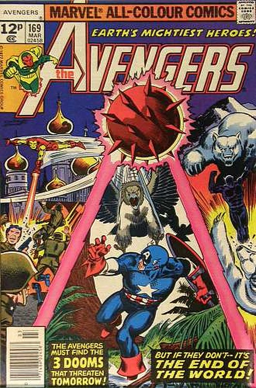 Cover of Avengers (Vol 1) #169. One of 250,000 Vintage American Comics on sale from Krypton!