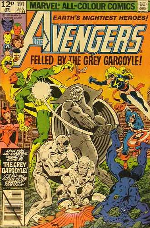 Cover of Avengers (Vol 1) #191. One of 250,000 Vintage American Comics on sale from Krypton!