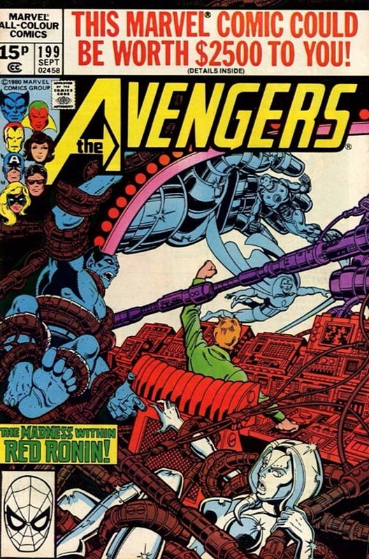 Cover of Avengers (Vol 1) #199. One of 250,000 Vintage American Comics on sale from Krypton!