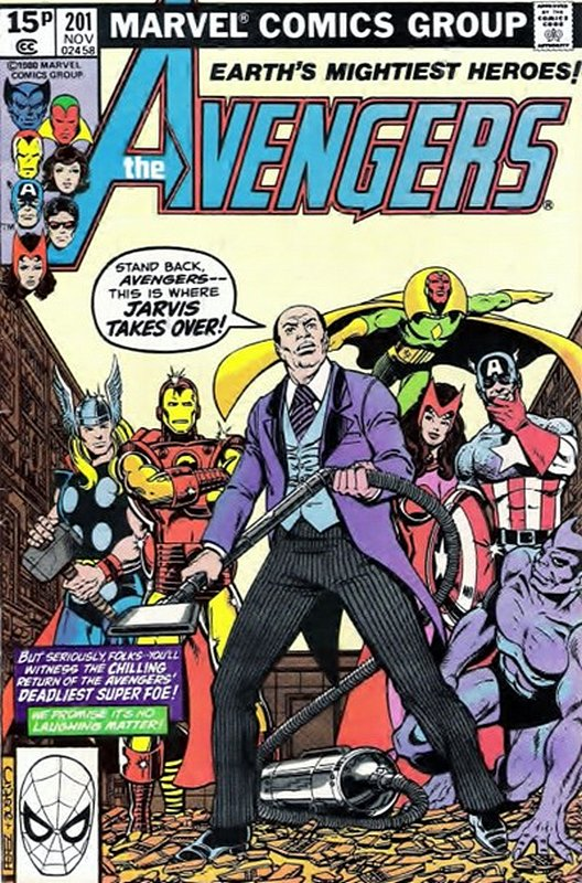 Cover of Avengers (Vol 1) #201. One of 250,000 Vintage American Comics on sale from Krypton!