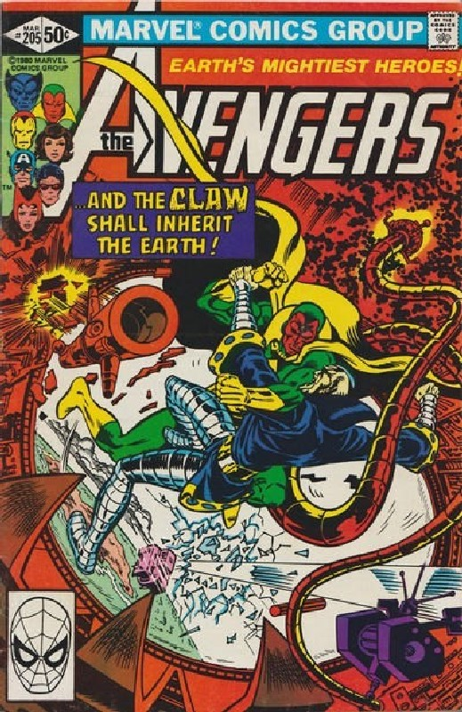Cover of Avengers (Vol 1) #205. One of 250,000 Vintage American Comics on sale from Krypton!