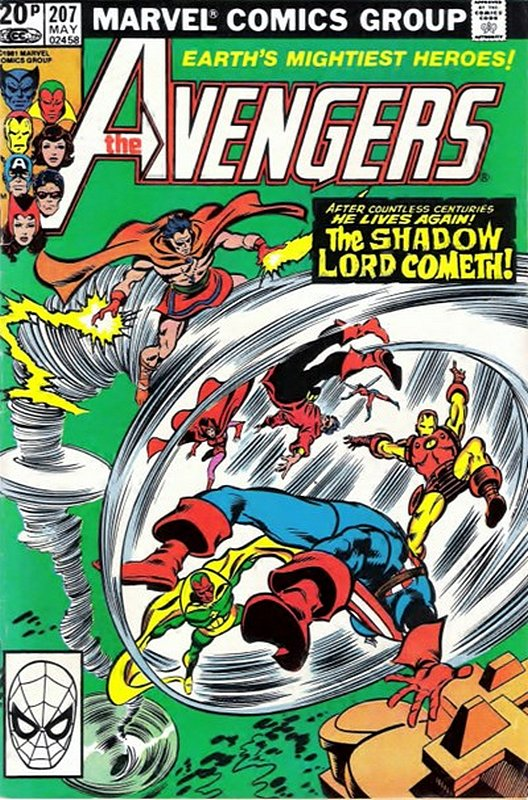 Cover of Avengers (Vol 1) #207. One of 250,000 Vintage American Comics on sale from Krypton!