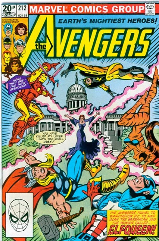 Cover of Avengers (Vol 1) #212. One of 250,000 Vintage American Comics on sale from Krypton!