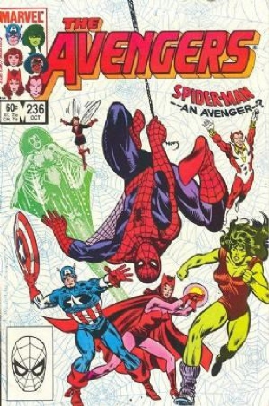 Cover of Avengers (Vol 1) #236. One of 250,000 Vintage American Comics on sale from Krypton!