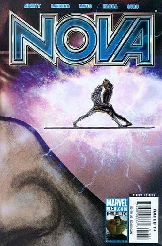 Cover of Nova (Vol 4) #13. One of 250,000 Vintage American Comics on sale from Krypton!