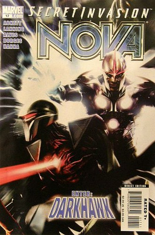 Cover of Nova (Vol 4) #17. One of 250,000 Vintage American Comics on sale from Krypton!
