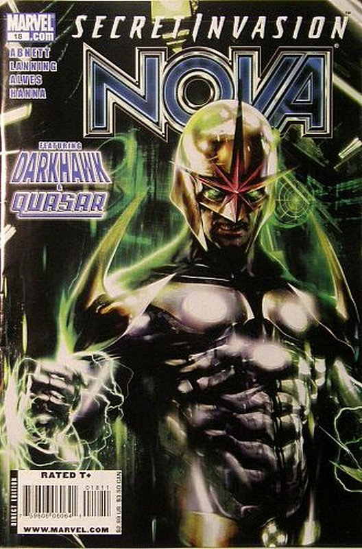 Cover of Nova (Vol 4) #18. One of 250,000 Vintage American Comics on sale from Krypton!