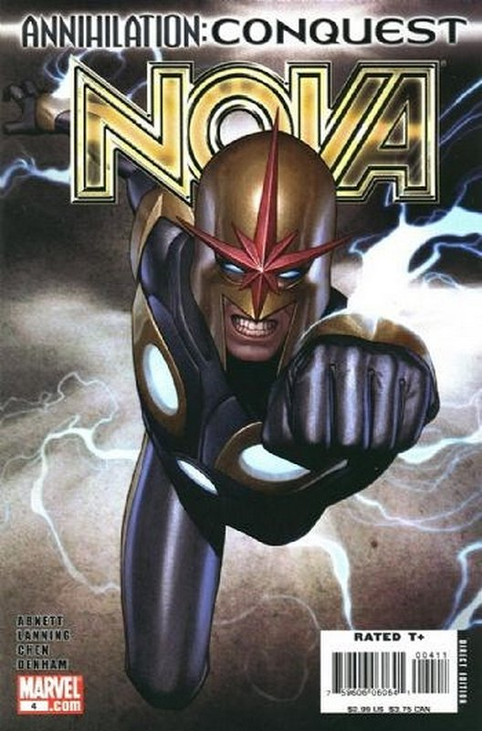 Cover of Nova (Vol 4) #4. One of 250,000 Vintage American Comics on sale from Krypton!