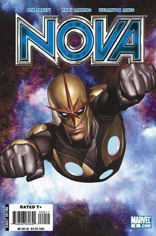 Cover of Nova (Vol 4) #9. One of 250,000 Vintage American Comics on sale from Krypton!
