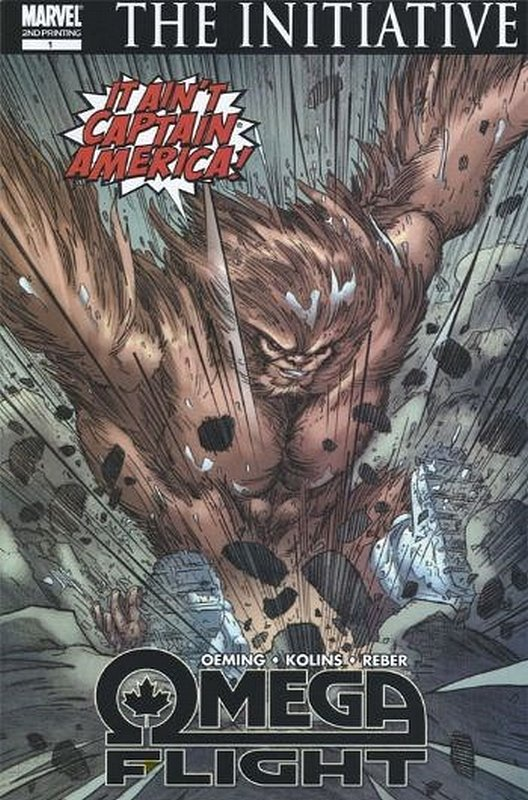 Cover of Omega Flight (2007 Ltd) #1. One of 250,000 Vintage American Comics on sale from Krypton!