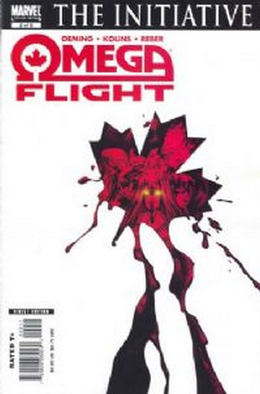 Cover of Omega Flight (2007 Ltd) #2. One of 250,000 Vintage American Comics on sale from Krypton!