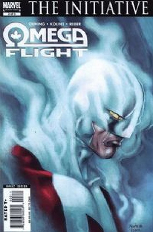 Cover of Omega Flight (2007 Ltd) #3. One of 250,000 Vintage American Comics on sale from Krypton!