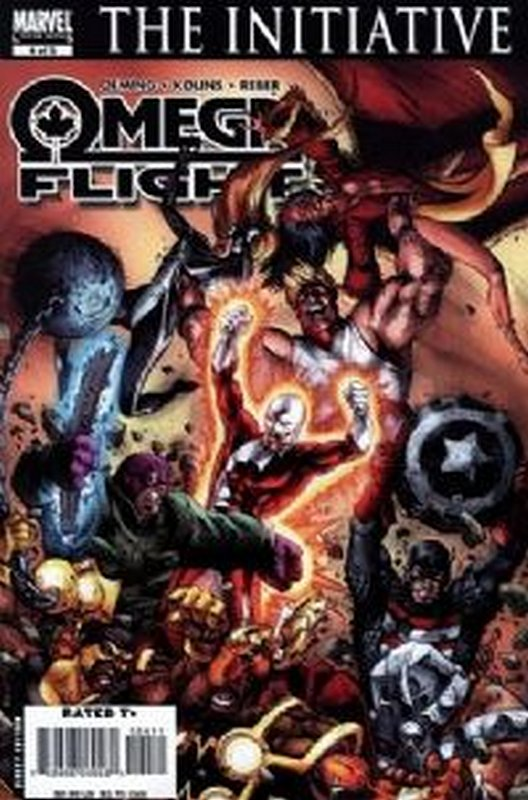 Cover of Omega Flight (2007 Ltd) #4. One of 250,000 Vintage American Comics on sale from Krypton!