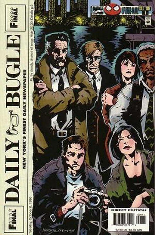 Cover of Daily Bugle (1996 Ltd) #1. One of 250,000 Vintage American Comics on sale from Krypton!