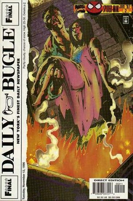 Cover of Daily Bugle (1996 Ltd) #2. One of 250,000 Vintage American Comics on sale from Krypton!