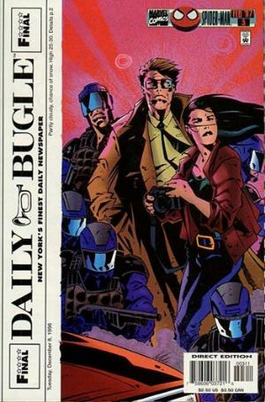 Cover of Daily Bugle (1996 Ltd) #3. One of 250,000 Vintage American Comics on sale from Krypton!