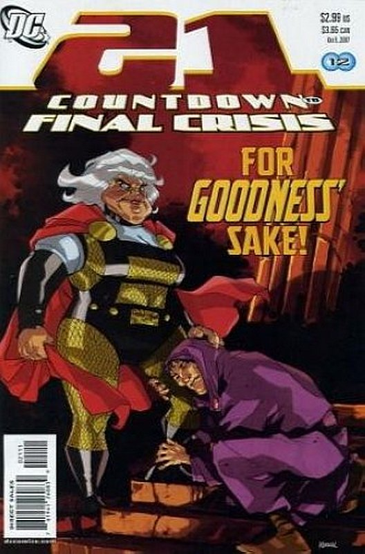 Cover of Countdown (To Final Crisis) #21. One of 250,000 Vintage American Comics on sale from Krypton!