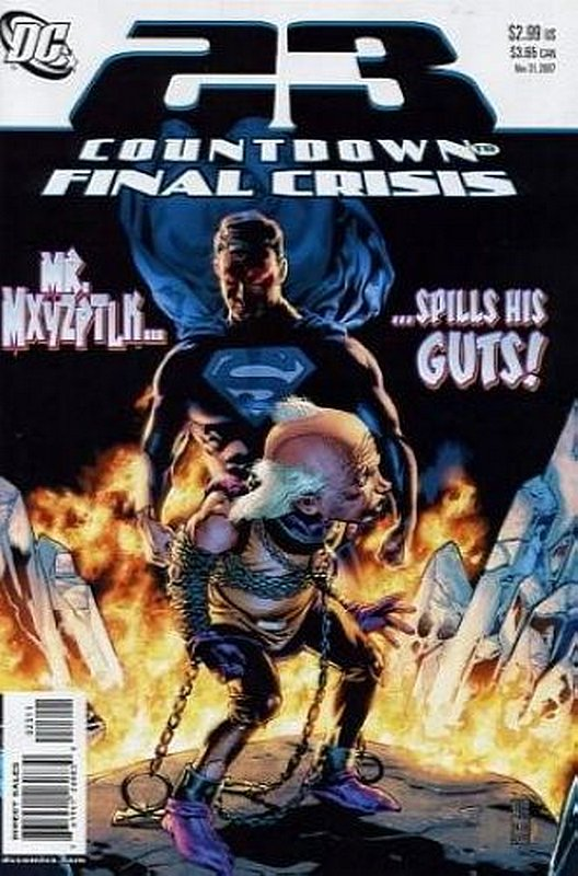 Cover of Countdown (To Final Crisis) #23. One of 250,000 Vintage American Comics on sale from Krypton!
