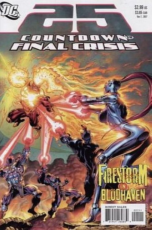 Cover of Countdown (To Final Crisis) #25. One of 250,000 Vintage American Comics on sale from Krypton!