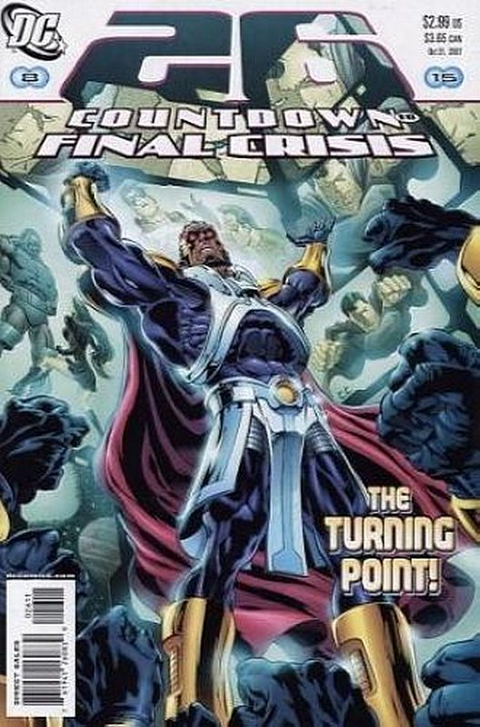 Cover of Countdown (To Final Crisis) #26. One of 250,000 Vintage American Comics on sale from Krypton!