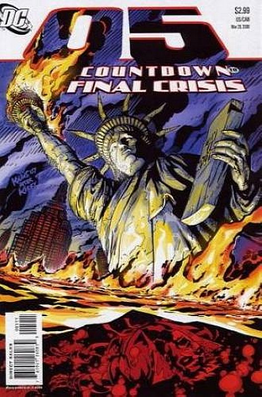 Cover of Countdown (To Final Crisis) #5. One of 250,000 Vintage American Comics on sale from Krypton!