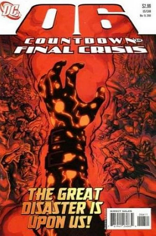 Cover of Countdown (To Final Crisis) #6. One of 250,000 Vintage American Comics on sale from Krypton!