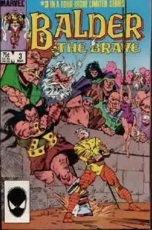 Cover of Balder The Brave (1985 Ltd) #3. One of 250,000 Vintage American Comics on sale from Krypton!