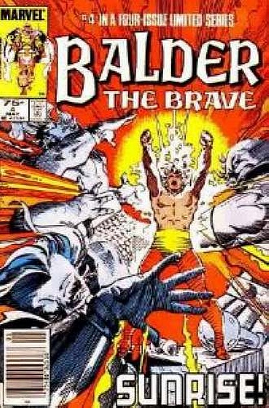 Cover of Balder The Brave (1985 Ltd) #4. One of 250,000 Vintage American Comics on sale from Krypton!