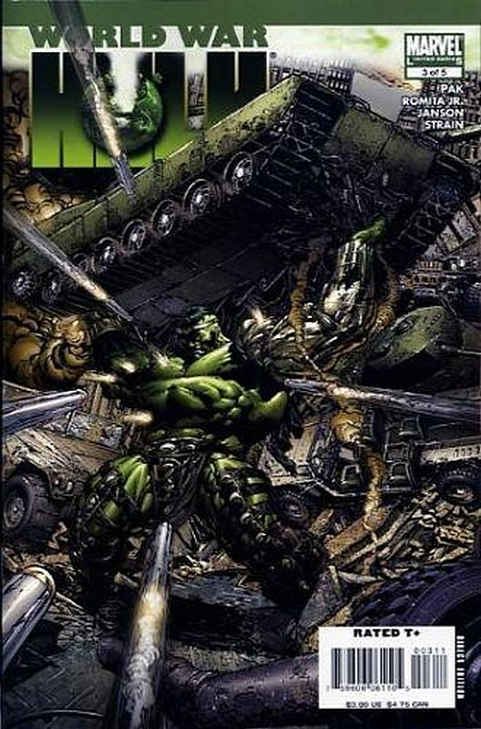 Cover of World War Hulk (2007 Ltd) #3. One of 250,000 Vintage American Comics on sale from Krypton!