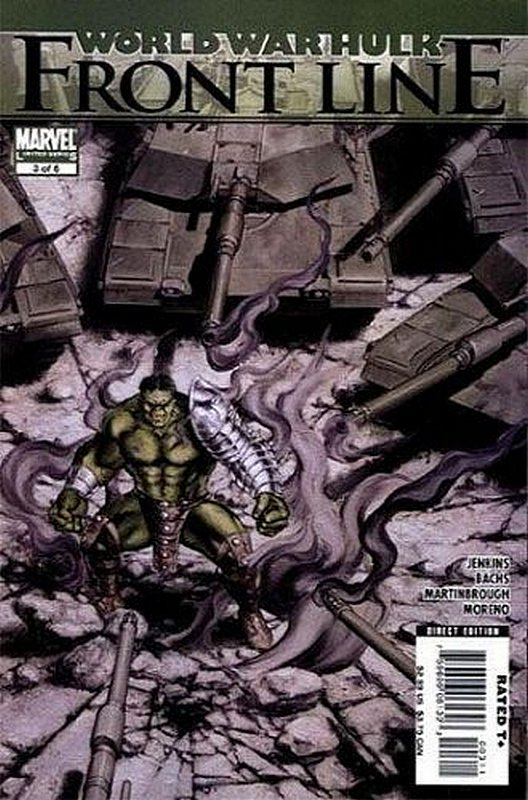 Cover of World War Hulk: Frontline (2007 Ltd) #3. One of 250,000 Vintage American Comics on sale from Krypton!