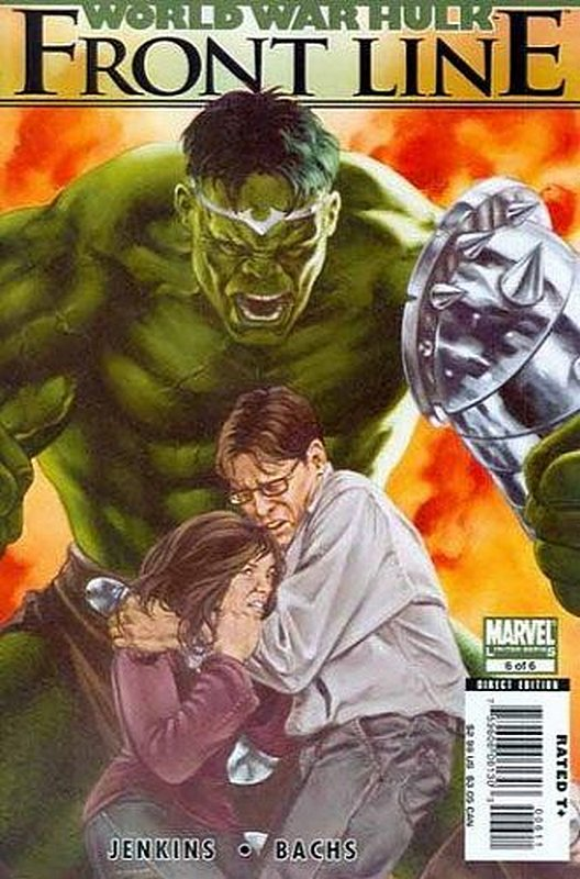 Cover of World War Hulk: Frontline (2007 Ltd) #6. One of 250,000 Vintage American Comics on sale from Krypton!
