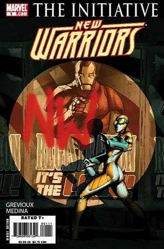 Cover of New Warriors (Vol 3) #1. One of 250,000 Vintage American Comics on sale from Krypton!