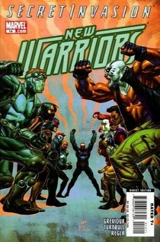 Cover of New Warriors (Vol 3) #14. One of 250,000 Vintage American Comics on sale from Krypton!