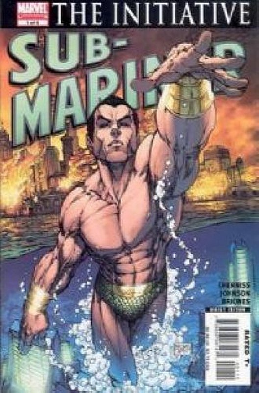 Cover of Sub-Mariner (2007 Ltd) #1. One of 250,000 Vintage American Comics on sale from Krypton!