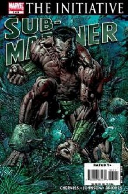 Cover of Sub-Mariner (2007 Ltd) #5. One of 250,000 Vintage American Comics on sale from Krypton!