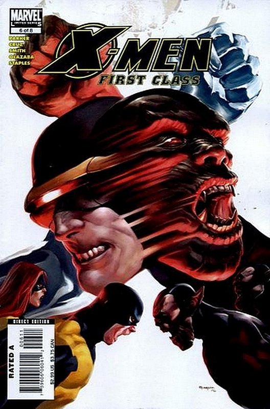 Cover of X-Men: First Class (2006 Ltd) #6. One of 250,000 Vintage American Comics on sale from Krypton!