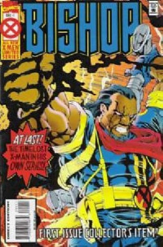 Cover of Bishop (1994 Ltd) #1. One of 250,000 Vintage American Comics on sale from Krypton!