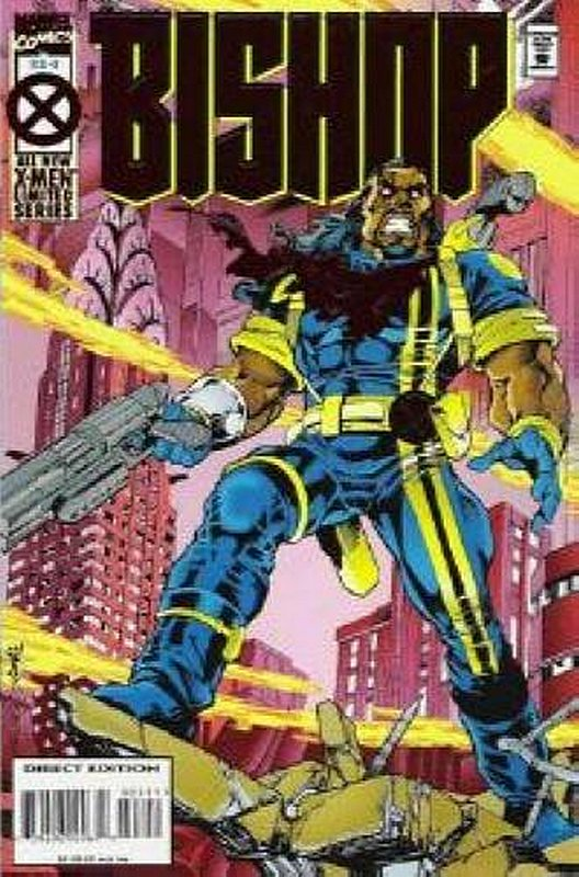 Cover of Bishop (1994 Ltd) #3. One of 250,000 Vintage American Comics on sale from Krypton!
