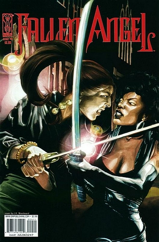 Cover of Fallen Angel (IDW) (Vol 1) #9. One of 250,000 Vintage American Comics on sale from Krypton!