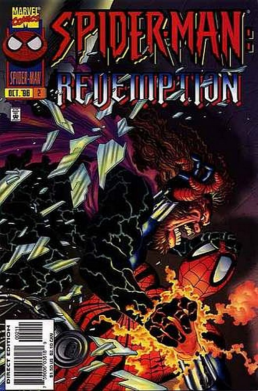 Cover of Spider-Man: Redemption (1996 Ltd) #2. One of 250,000 Vintage American Comics on sale from Krypton!
