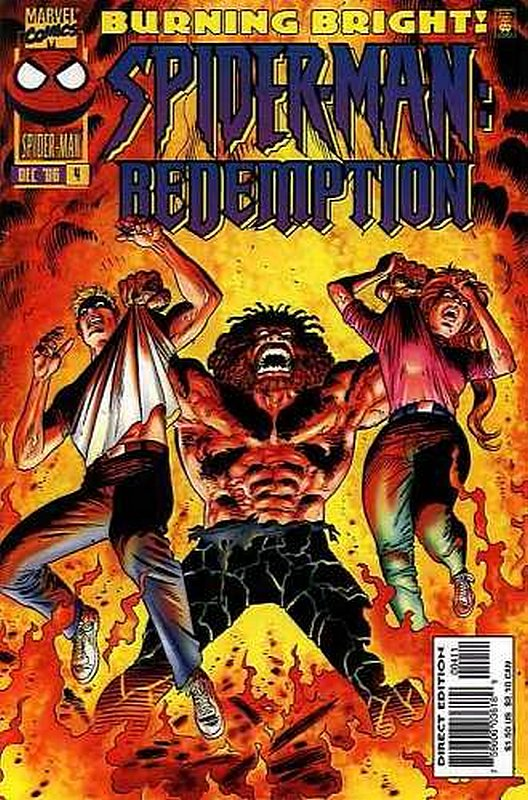 Cover of Spider-Man: Redemption (1996 Ltd) #4. One of 250,000 Vintage American Comics on sale from Krypton!